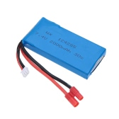 RC Part 7.4V 2000mAh 30C Lipo Battery(Banana Plug) for Syma X8C RC Quadcopter