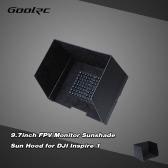 GoolRC 9.7inch FPV Monitor Black Sunshade Sun Hood for Tablet iPad for DJI Inspire 1 DJI Phantom 3 FPV