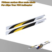 Carbon Fiber 700mm Main Blades for  Align Trex 700 RC Helicopter