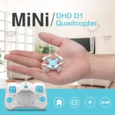 DHD D1 2.4G 4CH RTF 3D Flip Headless Mini RC Quadcopter Drone