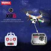 Syma X8G 2.4G 6 Axis Gyro 4-CH Headless RC Quadcopter with a HD Camera