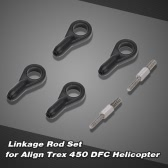 Linkage Rod Set for Align Trex 450 DFC 6CH 3D RC Helicopter