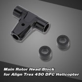 Main Rotor Head Block for Align Trex 450 DFC 6CH 3D RC Helicopter
