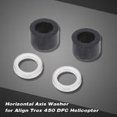 Horizontal Axis Washer for Align Trex 450 DFC 6CH 3D RC Helicopter