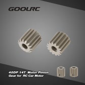 GoolRC 2Pcs 48DP 3.175mm 14T Motor Pinion Gear for RC Car Brushed Brushless Motor
