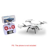 Original SYMA X5HW Wifi FPV 0.3MP Camera RC Quadcopter with 360° Eversion CF Mode Hover Function