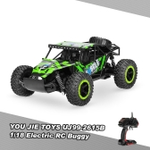 Original YOU JIE TOYS UJ99-2615B 1/18 2.4G 2CH 2WD Electric Slayer Speed Racing 5 Rounds Buggy Radio Control Car