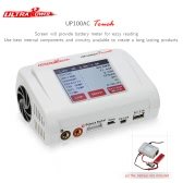 Original Ultra Power 100W UP100AC TOUCH Balance Charger with Multi Charging Modes Two USB Ports for LiPo LiHV LiFe Lilon NiCd NiMh PB RC Battery