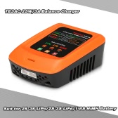 TE3AC 25W/3A Professional Balance Charger for 2S 3S LiPo/2S 3S LiFe/1-8S NiMH Battery