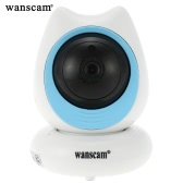 Wanscam®  Wireless 720P Pan Tilt IP Camera 1/4