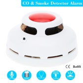 LCD Independent CO Carbon Monoxide Poisoning Alarm Detector Wireless