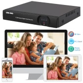 Owsoo® 16CH Channel Full 1080N AHD TVI DVR HVR NVR HDMI P2P Cloud Network Onvif Digital Video Recorder support Plug and Play Android/iOS APP Free CMS Browser View Motion Detection Email Alarm PTZ for HD 2000TVL CCTV Security Camera Surveillance System