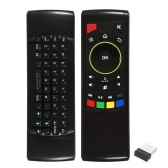 2.4G Air Mouse Wireless Keyboard Remote Control 6-Axis Sensor with Infrared Remote Learning for MINI PC Smart TV Android TV BOX