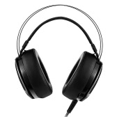 M160 3.5mm Stereo Gaming Headphone Super Bass Over-ear Headset LED Light with Mic for PC Laptop