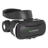 VR SHINECON Virtual Reality Glasses VR  Box 3D Glasses Headset w/ Headphone Support  Talking for Android iOS Windows Smart Phones with 3.5-5.5 inches