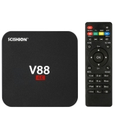 V88 Smart Android 5.1 TV Box RK3229 Quad Core KODI 16.1 XBMC UHD 4K 1G / 8G Mini PC WiFi H.265 DLNA AirPlay Miracast HD Media Player UK Plug