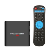 NEXSMART D32 Smart Android TV Box Android 5.1 RK3229 Quad-Core KODI 16.1 UHD 4K H.265 VP9 1GB / 8GB Mini PC WiFi & LAN HD Media Player UK Plug