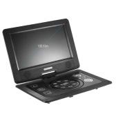 GKN-101 10. 1 Inches DVD Player Portatil 16:9 TFT Screen Pixe 1024 * 600 Support SD / USB / AV for Gamepad TV DVD / CD / MP3