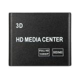 K7 HD Media Player Box F10 Chip Full HD 1080p 3D Video Audio with USB SD HDMI AV Port US Plug