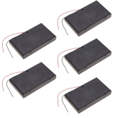 5pcs Battery Storage Case Box Holder for 8×AA Series Lithium Battery with Cover and Switch