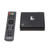 KI 2 in 1 DVB-T2 Digital Video Broadcasting Satellite Receiver Android 4.4.2 TV Box Amlogic S805 Quad Core Cortex-A5 1.5 1G / 4G 1080P XBMC DLNA AirPlay H.265 2.4G WiFi Smart Media Player with Remote Controller