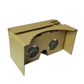 """Portable Head-Mounted DIY Google Cardboard V2.0 3D Glasses 3D VR Virtual Reality Video Glasses for Up to 6"""" Smart Phones"""