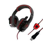 SADES SA901 7.1  Surround Sound USB Gaming Game Headphone Headset Mic Remote for PC Laptop