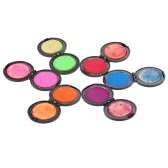 6 colors Temporary Hair Dye Powder Hair Color Powder Chalk Cake Styling Hair Set Soft Pastels Salon Tools Kit Non-toxic
