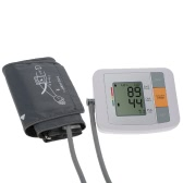 Fully Automatic Upper Arm Blood Pressure Monitor Pro Tonometer Hematomanometer Sphygmomanometer Heart Rate Pulse Monitor