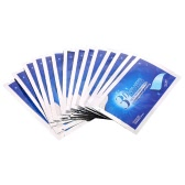 14pcs/box 3D Teeth Whitening Strips Teeth Dental Whitening Double Elastic Gel Strips Dental Tools Teeth Strips Whitening Product