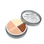 Music Flower Makeup 4 Color Face Concealer Cover Cream
