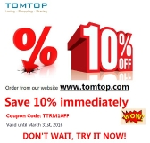 TOMTOP Shopping Mall Marketing Card