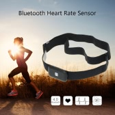Bluetooth Heart Rate Sensor Fitness Tracker Wireless Sport Heart Rate Monitor Fitness Smart Sensor Chest Strap for Mobile Cell Phone