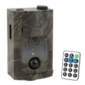 LIXADA 120° Wide Lens Portable Wildlife Investigation Camera 12MP HD Digital Infrared Scouting Trail Camera 940NM IR LED Night Vision 1080P Video Recorder