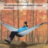 LIXADA Ultra-light Hammock for Travelling Hiking Treking Camping with Attached Stuff Sack for One Single Person