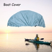 11-22 Feet Speedboat Boat Cover V-Hull Boat Cover Polyester Taffeta UV Water Resistant with Storage Bag
