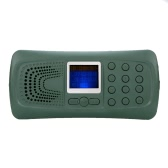 Outdoor Hunting Decoy Bird Caller Mp3 Player Bird Sound Loudspeaker Amplifier LED Light with Carry Case