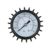 Inflatable Boat Raft Ribs Kayak Air Pressure Gauge Body Board Barometer Pressure Gauge with Hose Adaptor Connector