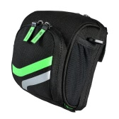 ROCKBROS Multi-purpose MTB Bike Folding Bike Bar Bag Pouch Front Rear Bag Saddle Seat Bag Bicycle Bag Bike Handlebar Bag with Rain Cover Bike Accessories