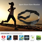 Docooler Bluetooth 4.0 Wireless Sport Heart Rate Monitor Chest Strap Band Running Fitness Exercise for iPhone for Android