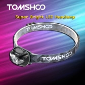 TOMSHOO Super Bright LED Headlamp High Power Flashlight Headlight Lamp for Biking Camping Climbing Other Outdoor Activities
