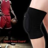 通気性の良いとWosawe膝ガードスリーブパッドバスケットボールパッドプロテクター弾性