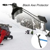Black Axe Protector Spike Pick Protector Ice Axe Head Cover Accessory