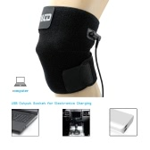 Adjustable Heat Therapy Knee Wrap Brace Thermotherapy Heating Pad USB Charging