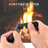 docooler Flint Fire Starter Emergency Gear Survival Kit for Outdoor Activities