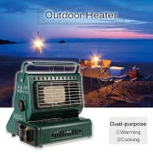 Outdoor Heater Burner Gas Heater Travelling Camping Hiking Picnic Equipment Dual-purpose Use
