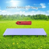 Portable Folding Camping Cot Off Ground Aerial Aluminum Alloy Ultralight Camping Bed Camping Cot Moisture-proof Elevated Bed Mat 61*185CM/66*200CM/76*200CM