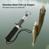 Portable Stainless Steel Fish Lip Gripper Grabber Fish Grip Grab Fish Holder Fishing Tool Fishing Tackle 25kg Capacity