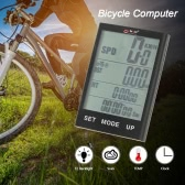 Bike Computer Wireless Bicycle Speedometer Odometer Temperature Backlight Water Resistant for Cycling Riding Multi Function