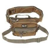 防水多機能釣りバッグ折り畳み式の釣り竿タックル バッグ ウエスト パック メッセン ジャー バッグ